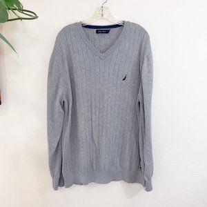 Nautica Ribbed Knit Sweater